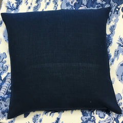 Linen Accent Pillow - Navy