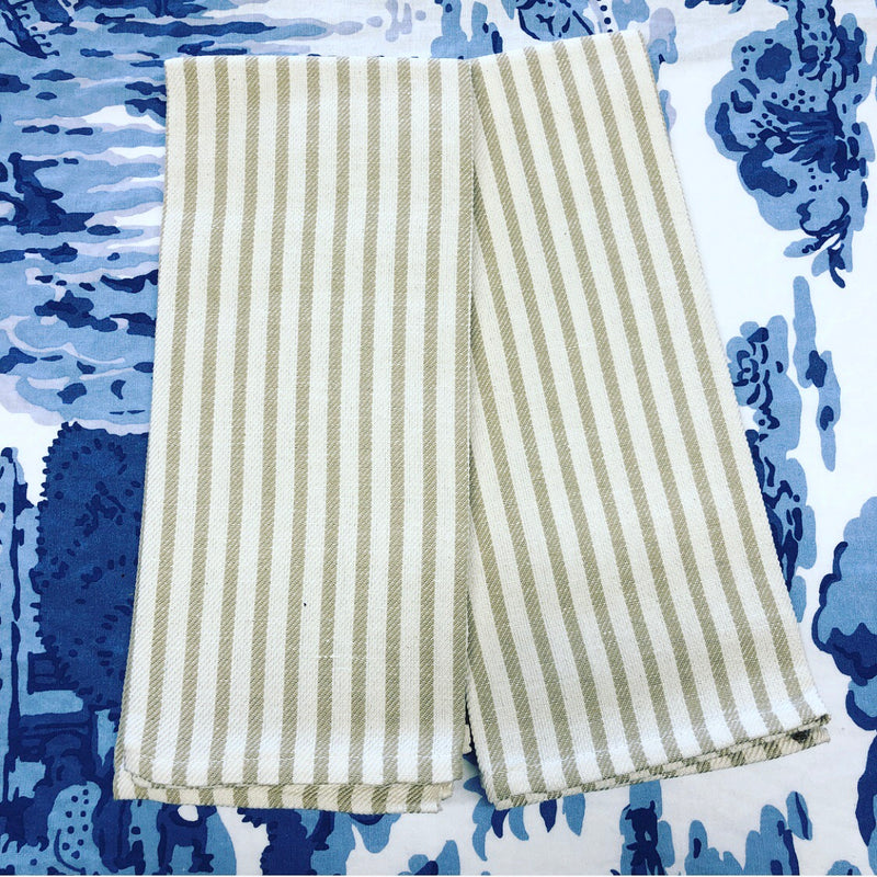 Sand Stripe Kitchen Towel