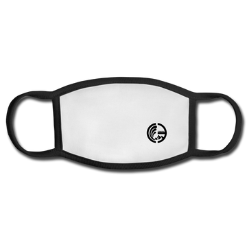 Face Mask - white/black