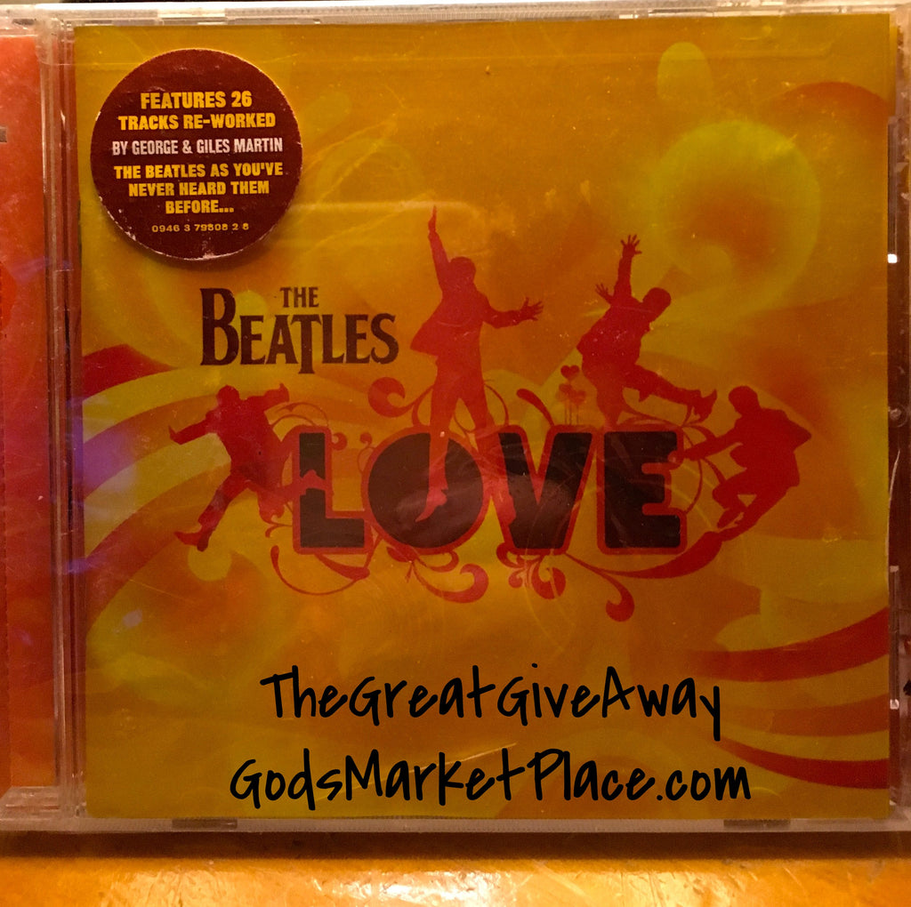 Vintage Beatles CD - Never been opened