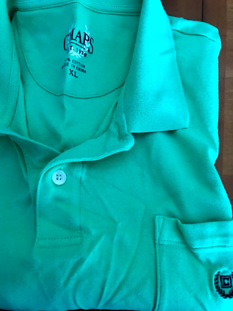 Chaps Golf Polo - Turquoise