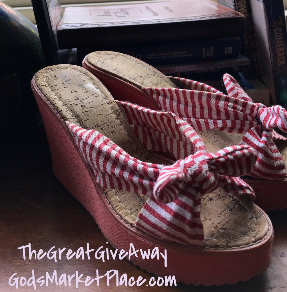 Candy Stripe Platforms Wows!