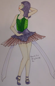 Trochilus Polytmus Anime Dancer Drawing