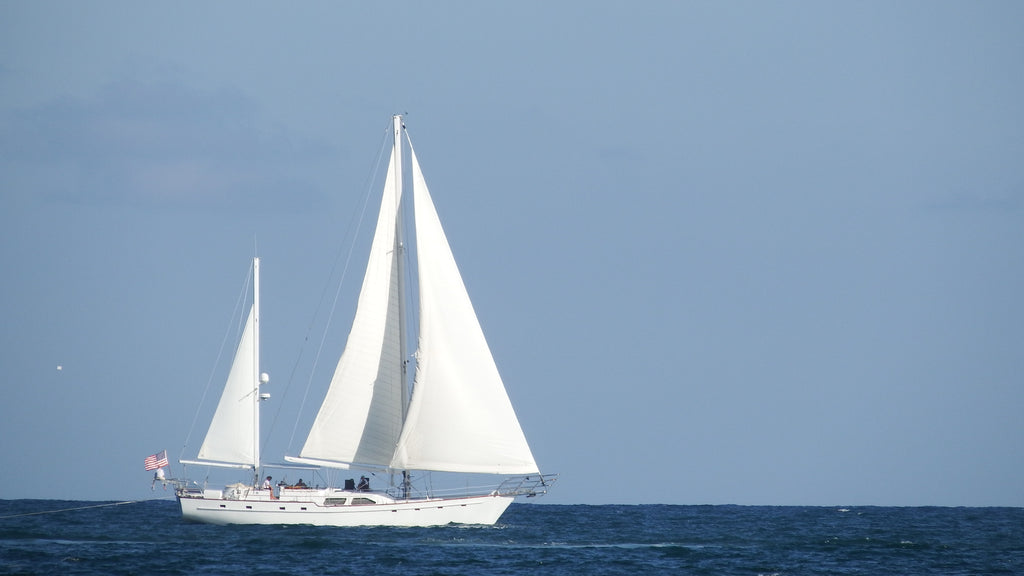 Schooner Sailing in Miami Beach