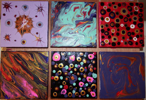 My Next Little Series of Pouring Paintings