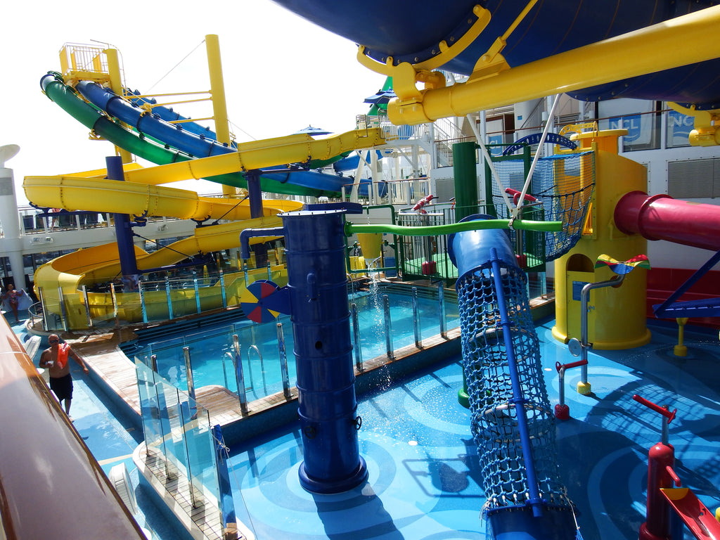 A Water Park in the Cruise