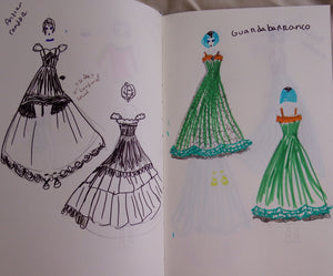 Fancy Dresses Fashion Drawing