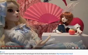 Doll Theater Episode 3: Going to the Psychologist Stop Motion Video