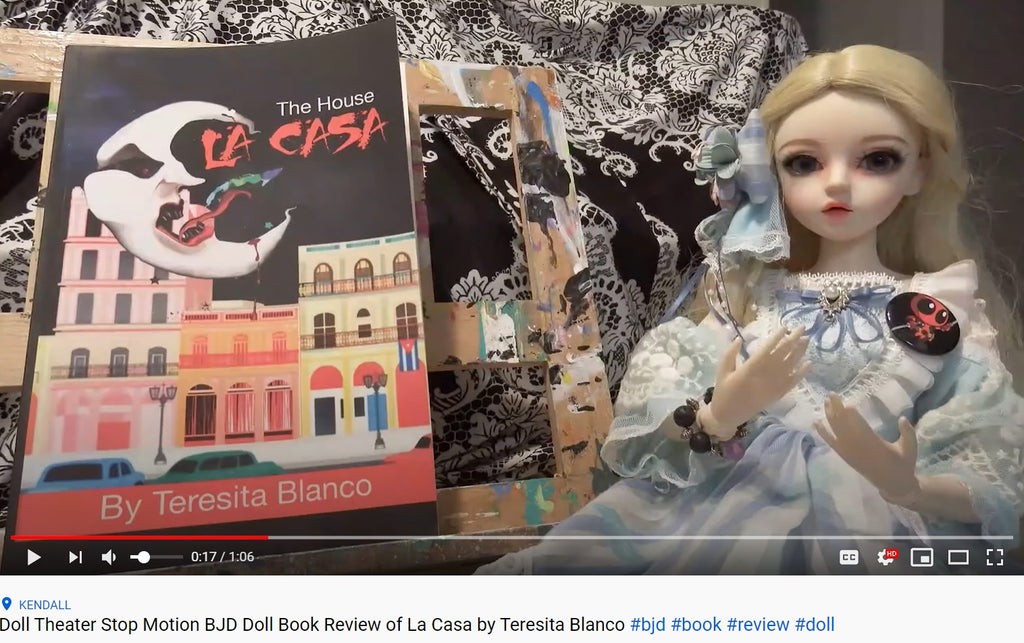 La Casa Stop Motion BJD Book Review