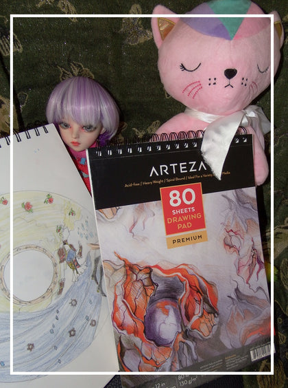 artsy sister,art supplies,arteza