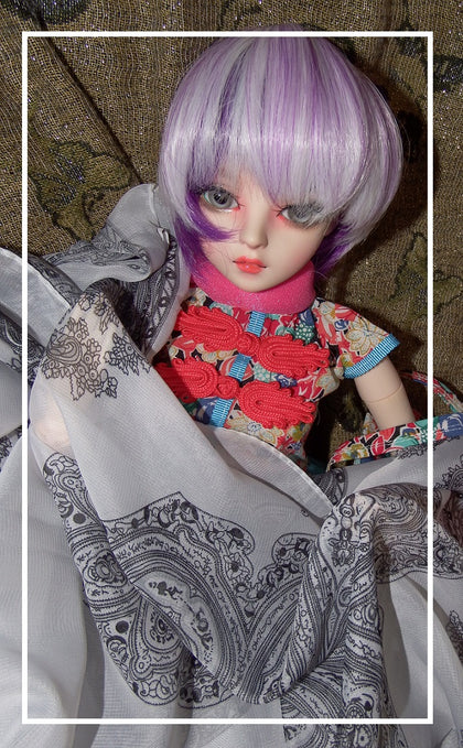artsy sister,fabric empire,bjd doll
