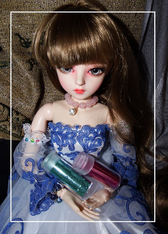 artsy sister,bjd doll,brown hair