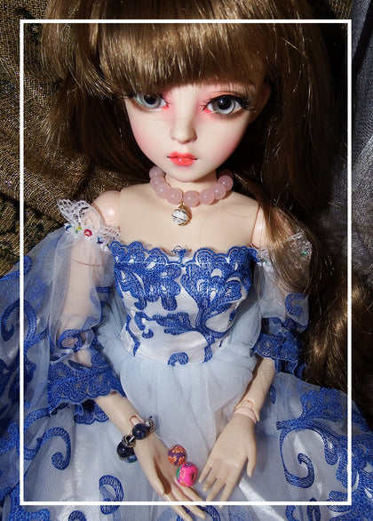artsy sister,bjd doll,art beads