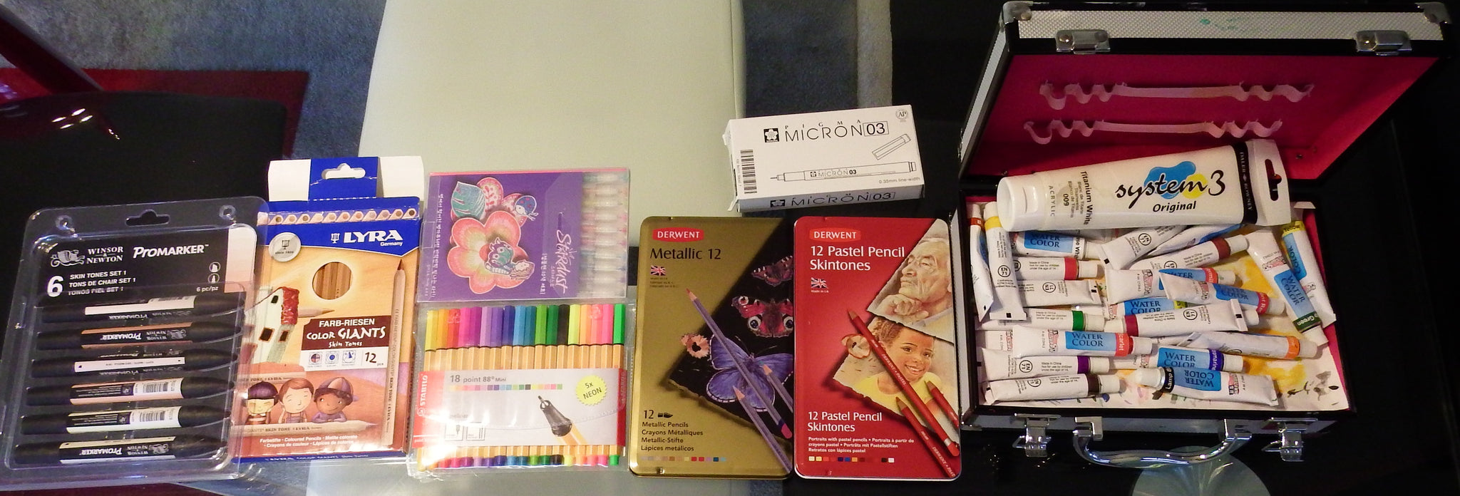 artsy sister,art supplies,derwent