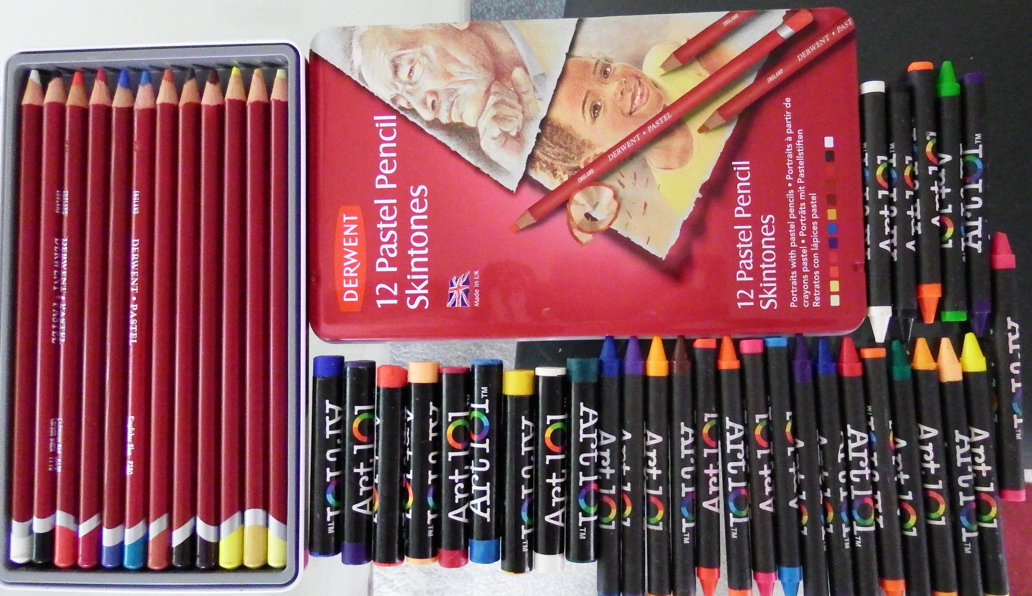 artsy sister,art supplies,pastels