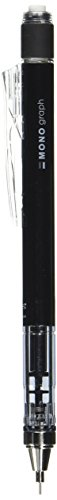Tombow Mechanical Pencil MONO Graph, Black, 0.3mm (SH-MG11R3)