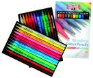 Koh-I-Noor Non-Toxic Woodless Colored Pencil Set - Assorted Color44; Set - 24