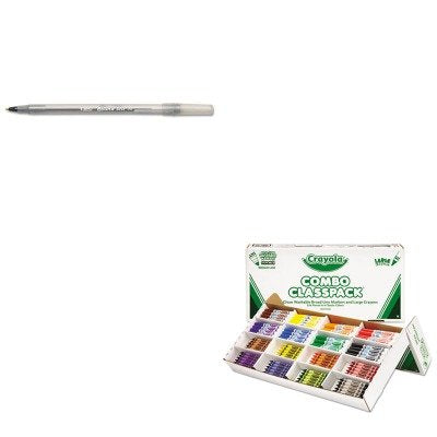 KITBICGSM11BKCYO523348 - Value Kit - Crayola Classpack Crayons w/Markers (CYO523348) and BIC