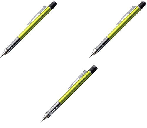 [3 pcs set!]Tombow mechanical pencil Mono Graph 0.5 DPA-132E lime from Japan