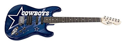 Woodrow Guitar by The Sports Vault NFL Dallas Cowboys Northender Electric Guitar