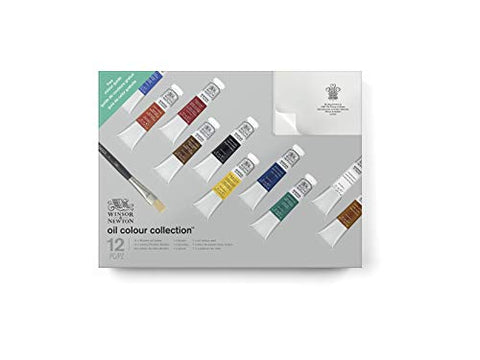 Winsor & Newton 1490621 Winton Paint Set, Assorted