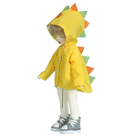 HMANE BJD Doll Clothes Raincoat, Little Monsters Wearproof Raincoat for 1/6 BJD Dolls (No Doll)