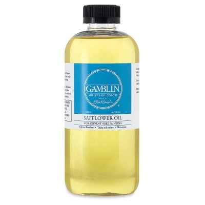 Gamblin Safflower Oil 16.9 oz Bottle