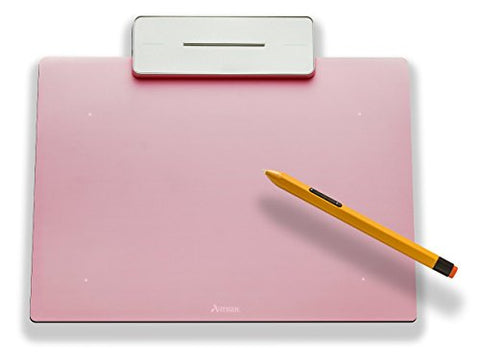 Artisul Pencil Small Sketchpad - Digital Graphics Tablet and Pen (Rose Pink)