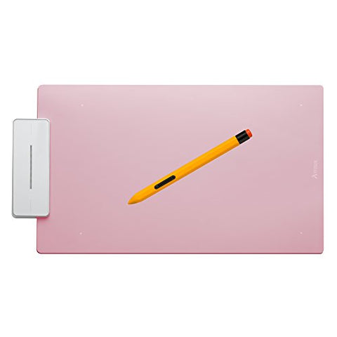 Artisul Pencil Medium Sketchpad - Digital Graphics Tablet and Pen (Rose Pink)