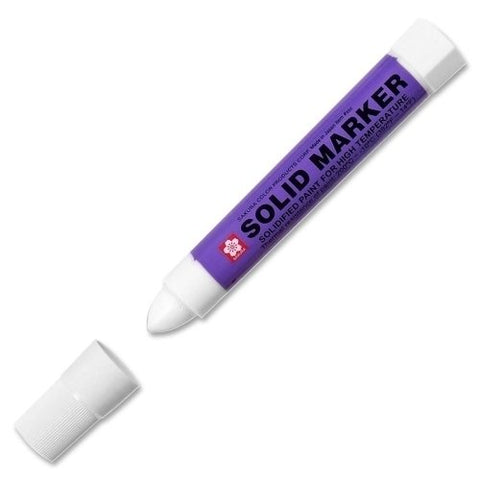 Solid Marker, Twist-action, 13mm, White