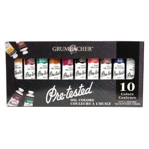 PRE-TESTED OIL 24 ml SET/10 Drafting, Engineering, Art (General Catalog) by Grumbacher