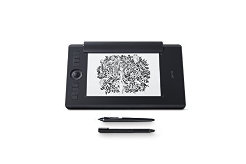 Wacom Intuos Pro Paper Edition digital graphic drawing tablet for Mac or PC, Medium (PTH660P),