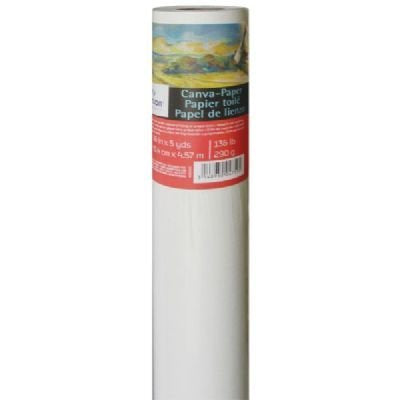Canson Canva Paper Roll for Craftwork, Bleed-Proof Canvas Like Texture for Oil or Acrylic Paint,