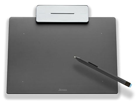 Artisul Pencil Small Sketchpad - Digital Graphics Tablet and Pen (Metallic Grey)