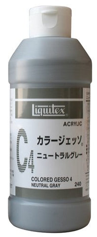 Liquitex Gesso 240ML NEW color neutral gray C4 (japan import)