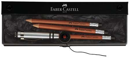 Faber Castell Perfect Pencil Brown Gift Set