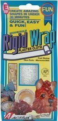 "Bulk Buy: Activa Rigid Wrap Plaster Cloth 4""X180"" 231 (3-Pack)"
