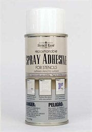 Stencil Ease Repositionable Stencil Spray Adhesive - 4.4 oz. can