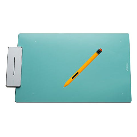 Artisul Pencil Medium Sketchpad - Digital Graphics Tablet and Pen (Turquoise Blue)