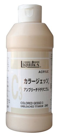 Liquitex Gesso NEW color 240ML Ann yellowtail titanium C3 (japan import)