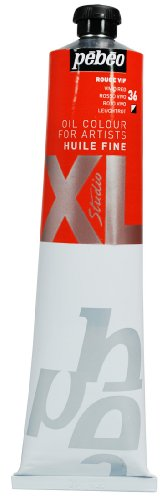 Pebeo Studio Xl Fine Oil 200-Milliliter, Vivid Red