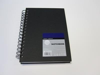Daler Rowney Simply Sketchbook Wire Bound 10.2cm x 15.3cm Extra White