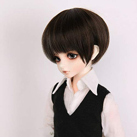 GHDE&MD BJD Doll 1/4 SD Dolls16.1 Inch with Full Set Clothes Shoes Wig Makeup Having Different Movable Joints SD Doll Boy for Girl As Gift,V White