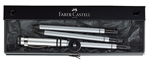 Faber-Castell Perfect Pencil Silver Gift Set (118350)