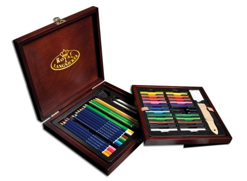 Royal & Langnickel Premier Drawing Pencil Art Set,49-Piece