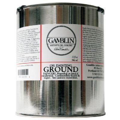 Gamblin Oil Painting Ground 32 oz. by Gamblin