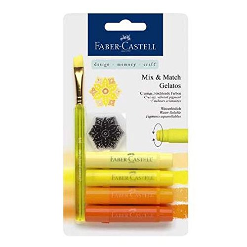 Faber-castell Gelatos Mix And Match Crayon - Yellow