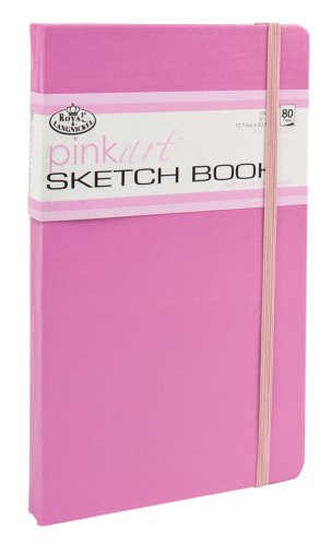 Royal & Langnickel Pink Art Artist Sketch Book