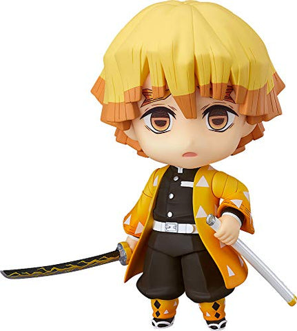 Good Smile Demon Slayer: Kimetsu no Yaiba: Zenitsu Agatsuma Nendoroid Action Figure, Multicolor