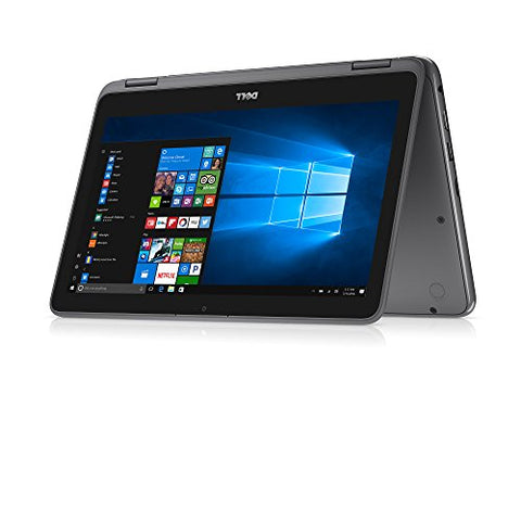 "2018 Flagship Dell Inspiron 11.6"" Business 2 in 1 HD Touchscreen Laptop/Tablet - AMD Dual-Core"